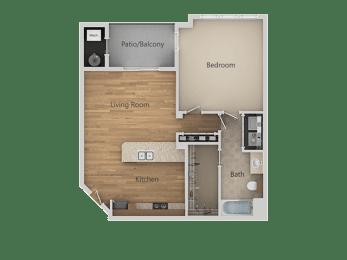 A2 1Bed_1Bath at Avena Apartments, Thornton, CO, 80233