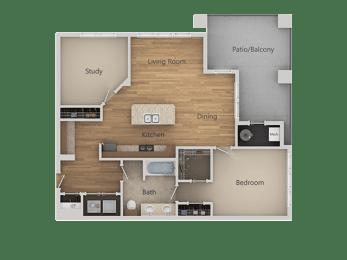 A3 2Bed_1Bath at Avena Apartments, Thornton, CO