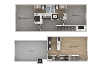 2Bed_2Bath Optimized at Parc on 5th Apartments & Townhomes, American Fork, 84003