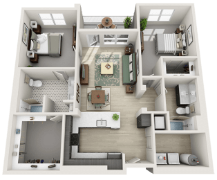 2Bed_2Bath Optimized at Parc View Apartments & Townhomes, Utah