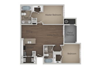 2X2 at Parc at Day Dairy Apartments & Townhomes, Draper