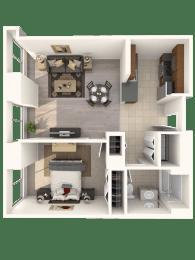 1D Floor Plan  Hartford 21