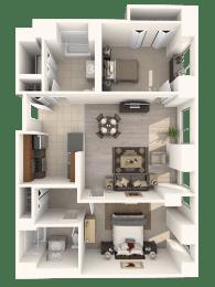 2D Floor Plan  Hartford 21