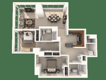 2J Floor Plan  Hartford 21