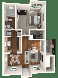 A1 Floor Plan |  Madison Arboretum