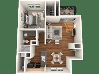 A3 Floor Plan  | Madison Arboretum