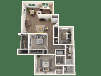 Amaro Floor Plan |Altezza High Desert