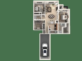Appaloosa Floor Plan |Estates at Heathbrook