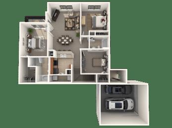 Belmont Floor Plan |Estates at Heathbrook