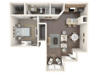 Cozumel l_down Floor Plan |Caribbean Isle