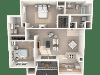 Cypress Floor Plan | Promenade at Reflection Lakes