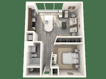 Delano Floor Plan | The Paramount
