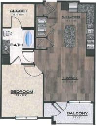 Florence Floor Plan   Rialto