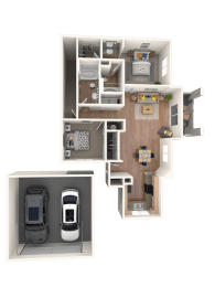 Miletto Floor Plan |Altezza High Desert