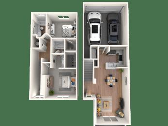 Paradiso Floor Plan |Altezza High Desert