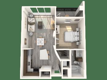 Rockefeller Floor Plan | Paramount