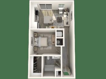 Studio Floor Plan   Inspire