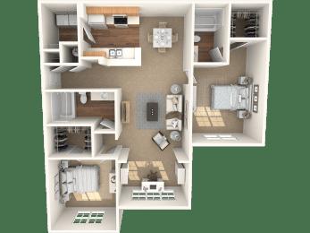 The Birch Floor Plan |Grandeville on Saxon