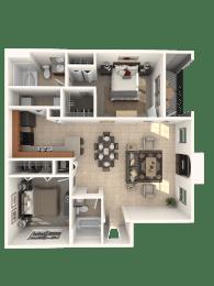 Thoroughbred Floor Plan |Estates at Heathbrook