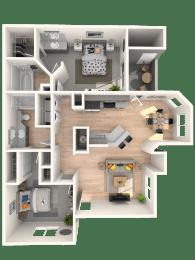 Velino Floor Plan |Altezza High Desert