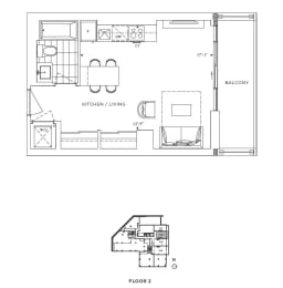 Floor Plan A - Kensington III