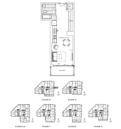 Floor Plan A - Kensington