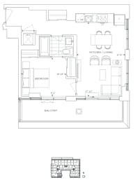 Floor Plan B1 - Bexley III
