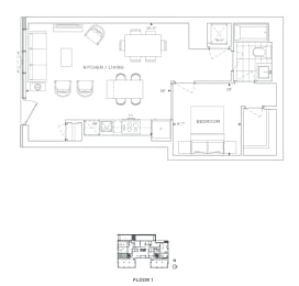 Floor Plan B1 - Bexley IV