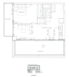 Floor Plan B1 - Bexley V