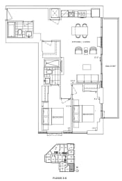 Floor Plan A2 - Brent II