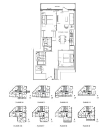 Floor Plan A2 - Brent III