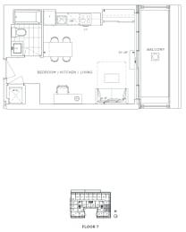 Floor Plan B - Croydon III