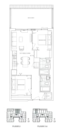 Floor Plan B2 - Bromley IV