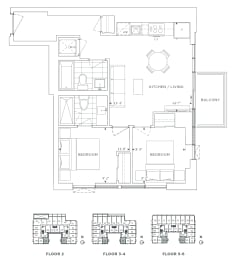 Floor Plan B2 - Bromley