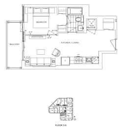Floor Plan A1 - Camden II