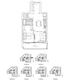 Floor Plan A1 - Camden III