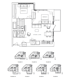 Floor Plan A2 - Brent