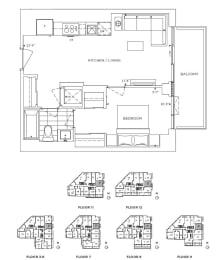 Floor Plan A1 - Chelsea II
