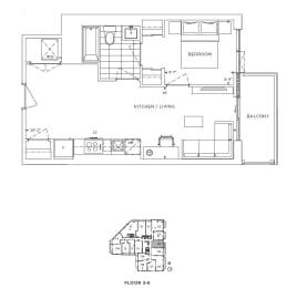 Floor Plan A1 - Chelsea IV