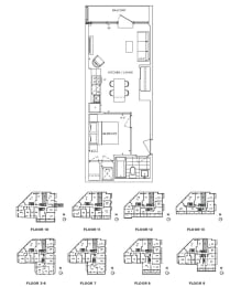 Floor Plan A1 - Chelsea