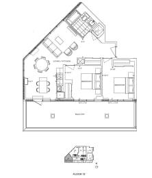Floor Plan A2 - Ealing III