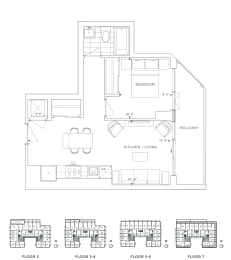 Floor Plan B1 - Greenwich II