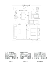 Floor Plan B1 - Greenwich III