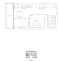 Floor Plan B1 - Greenwich VI