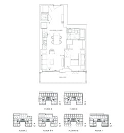 Floor Plan B1 - Greenwich