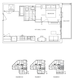 Floor Plan A1 - Hackney