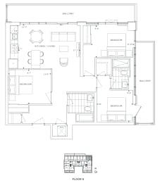 Floor Plan B3 - Hamlet II