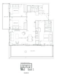 Floor Plan B3 - Hamlet