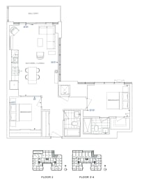 Floor Plan B2 - Havering IV