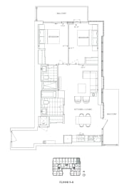 Floor Plan B2 - Havering V